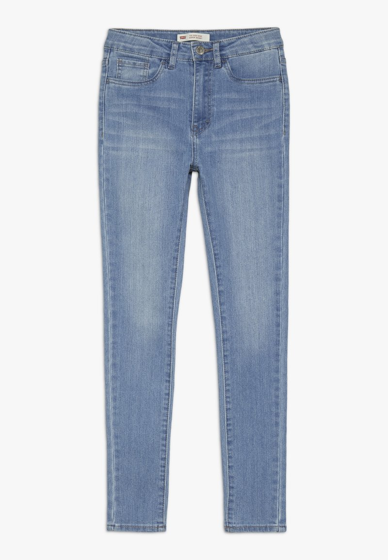 Levi's® - 720 HIGH RISE SUPER SKINNY - Jeansy Skinny Fit - light blue denim