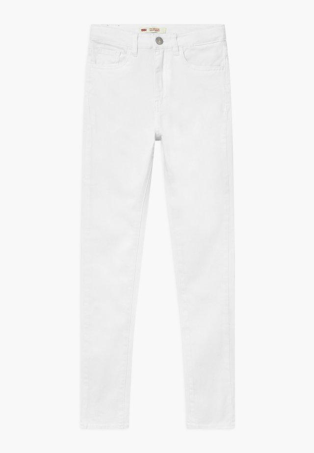 720 HIGH RISE SUPER SKINNY - Vaqueros pitillo - white