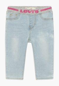 Levi's® - PULL ON SKINNY - Skinny džíny - blue denim - 0