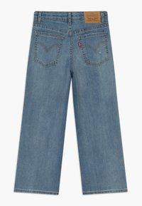 Levi's® - CROPPED WIDE LEG - Relaxed fit jeans - aura - 1