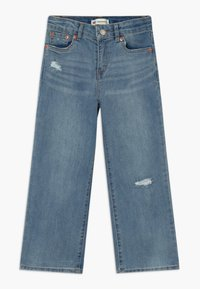Levi's® - CROPPED WIDE LEG - Relaxed fit jeans - aura - 0
