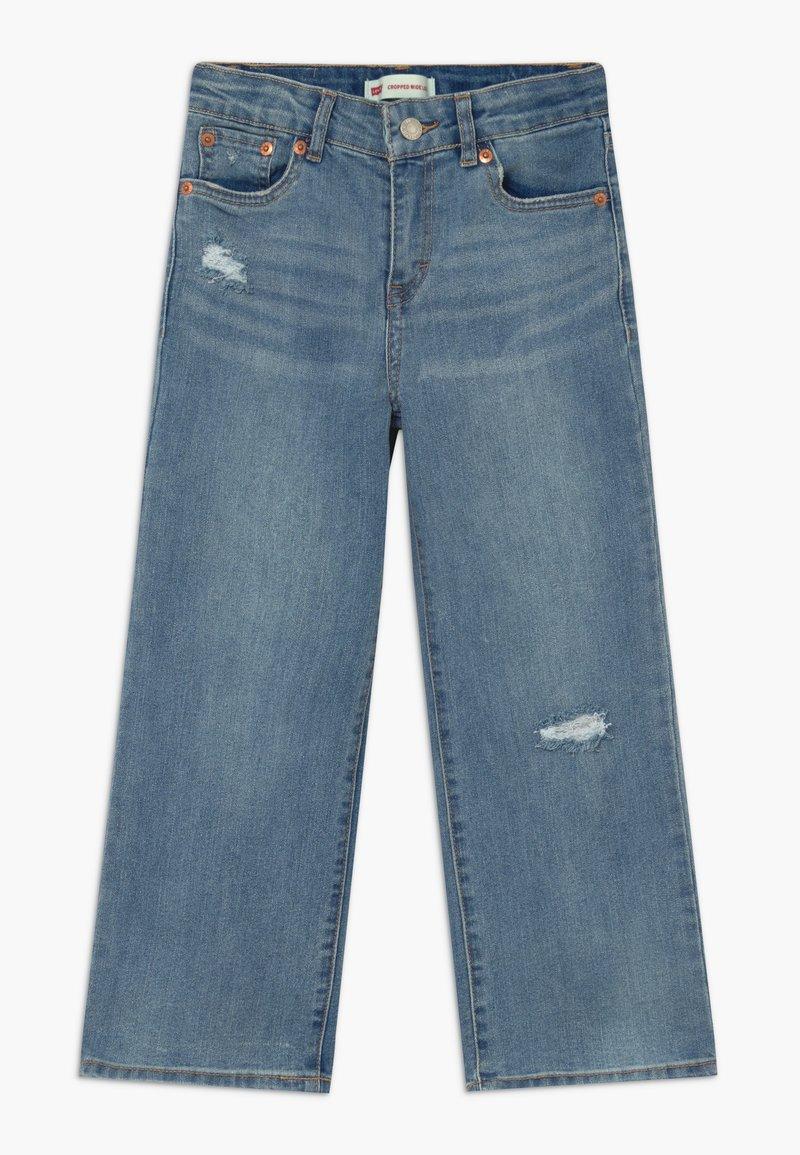 Levi's® - CROPPED WIDE LEG - Džíny Straight Fit - aura