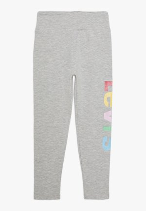 HIGH RISE GRAPHIC - Leggings - light gray heather