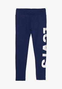 Levi's® - HIGH RISE GRAPHIC - Leggings - Hosen - medieval blue - 0