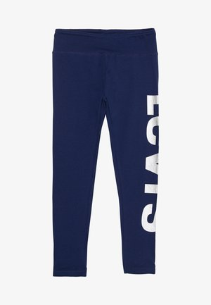 HIGH RISE GRAPHIC - Legging - medieval blue