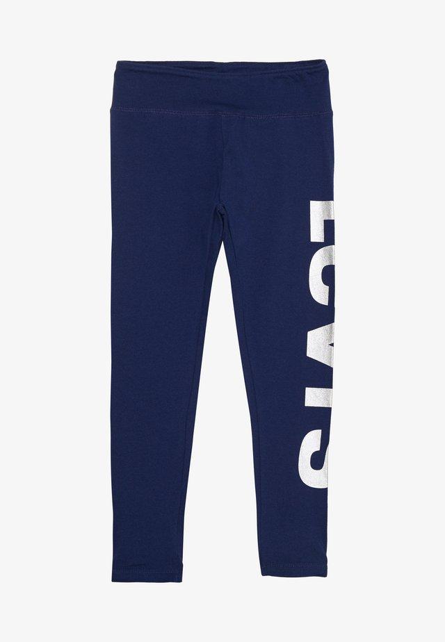 HIGH RISE GRAPHIC - Leggings - medieval blue