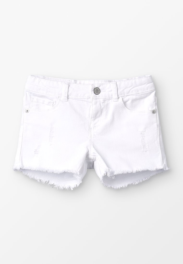 Levi's® - MARDI - Denim shorts - white