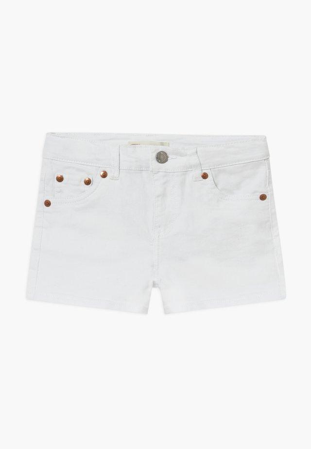 SHORTY - Jeansshorts - white
