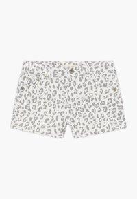 Levi's® - SHORTY - Denim shorts - white/gray - 0