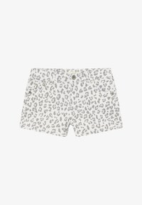 Levi's® - SHORTY - Denim shorts - white/gray - 2