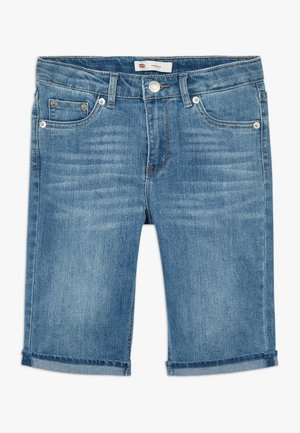 BERMUDA - Short en jean - blue denim