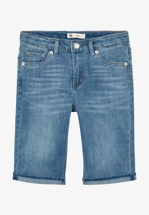 BERMUDA - Shorts vaqueros - blue denim