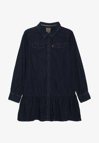 Levi's® - DROPPED WAIST DRESS - Denim dress - midnight cove - 3