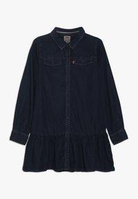 Levi's® - DROPPED WAIST DRESS - Denim dress - midnight cove - 0