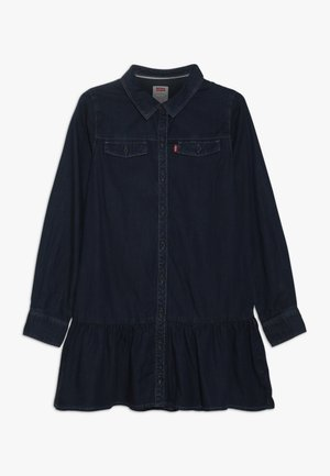 DROPPED WAIST DRESS - Robe en jean - midnight cove