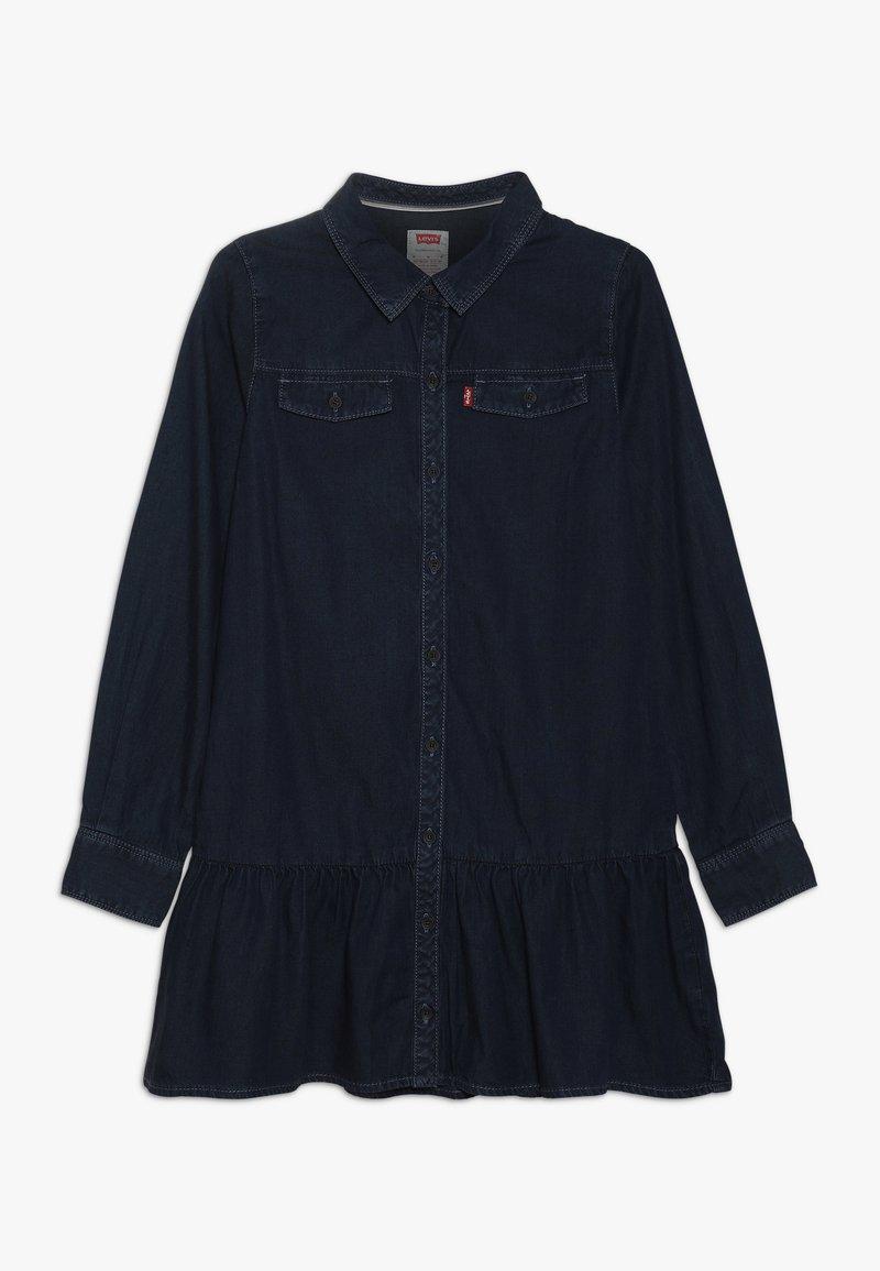 Levi's® - DROPPED WAIST DRESS - Denim dress - midnight cove