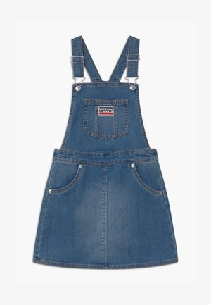 JUMPER - Jeanskjole / cowboykjoler - blue denim/blue