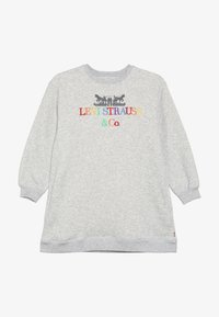 Levi's® - CREW DRESS - Robe en jersey - light gray heather