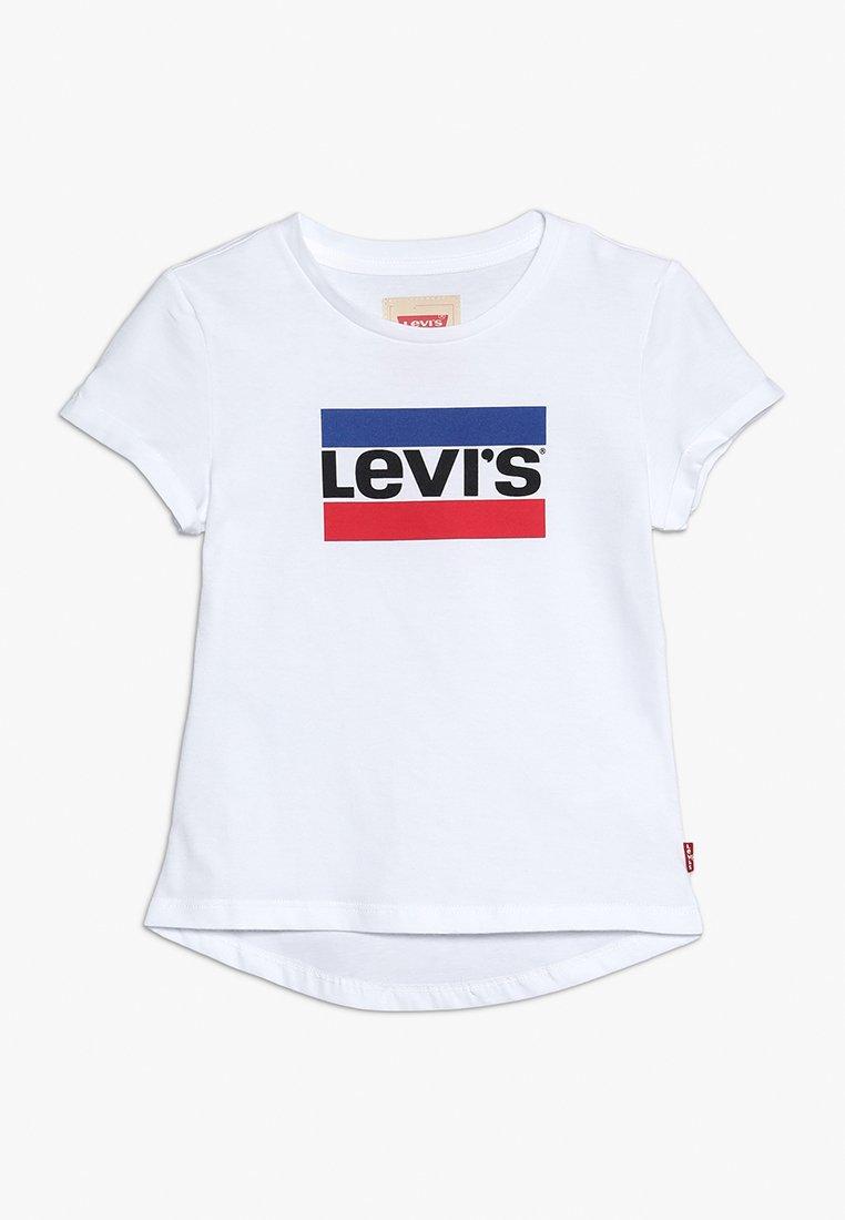Levi's® - TEE MARBLE - Print T-shirt - brillant white