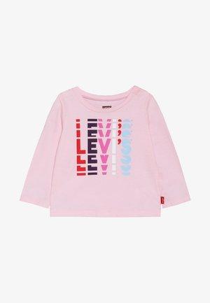 GRAPHIC TOP BABY - Top sdlouhým rukávem - pink lady