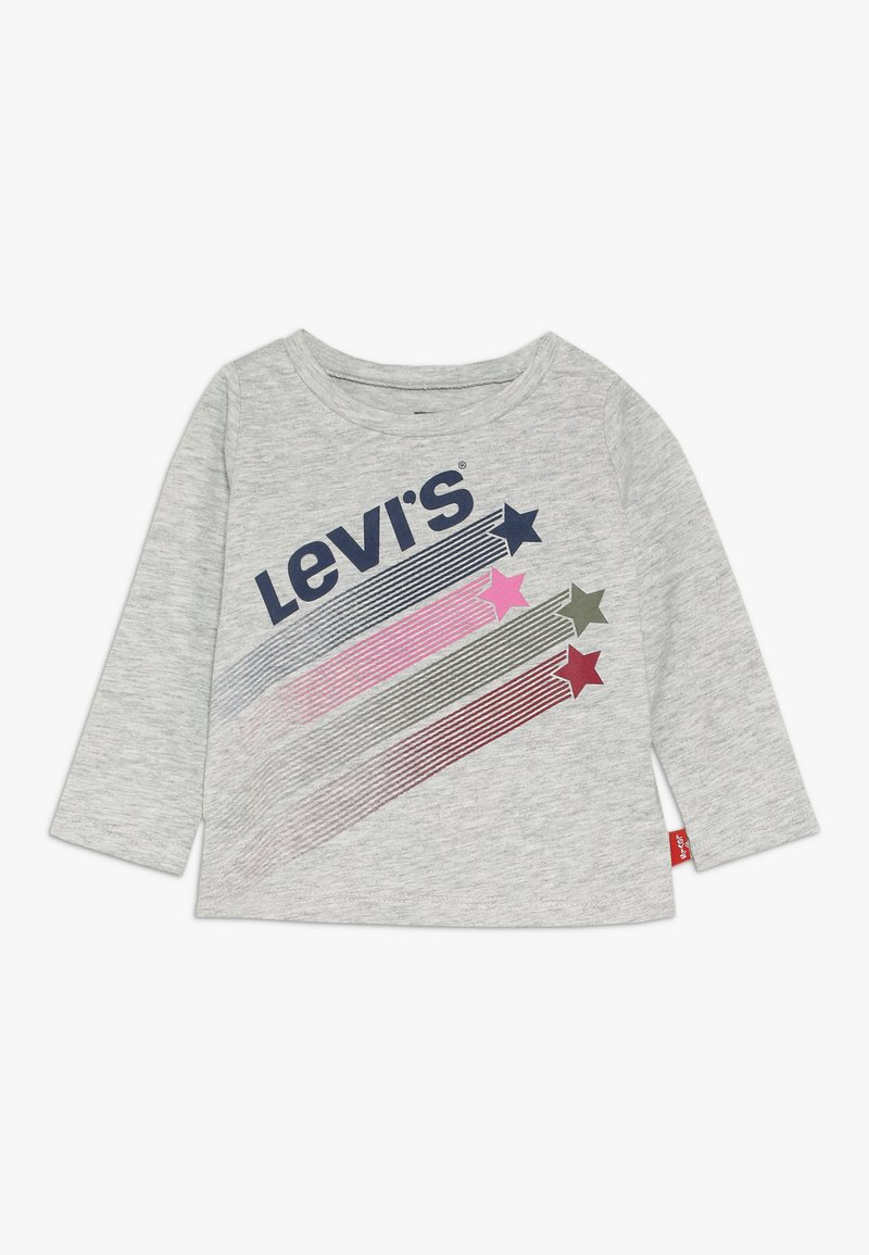 Levi's® - GRAPHIC TOP BABY - Langarmshirt - light grey heather