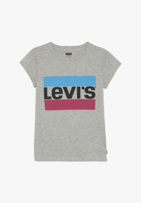 Levi's® - SPORTSWEAR LOGO TEE - T-Shirt print - grey heather - 1