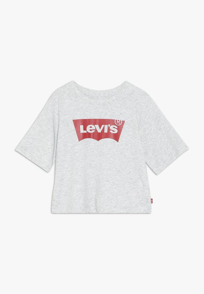 Levi's® - LIGHT BRIGHT CROPPED - Triko spotiskem - light gray heather