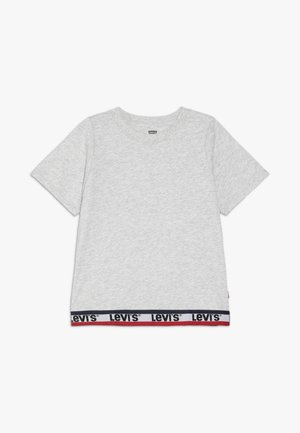 VARSITY TAPING - T-shirt imprimé - grey heather