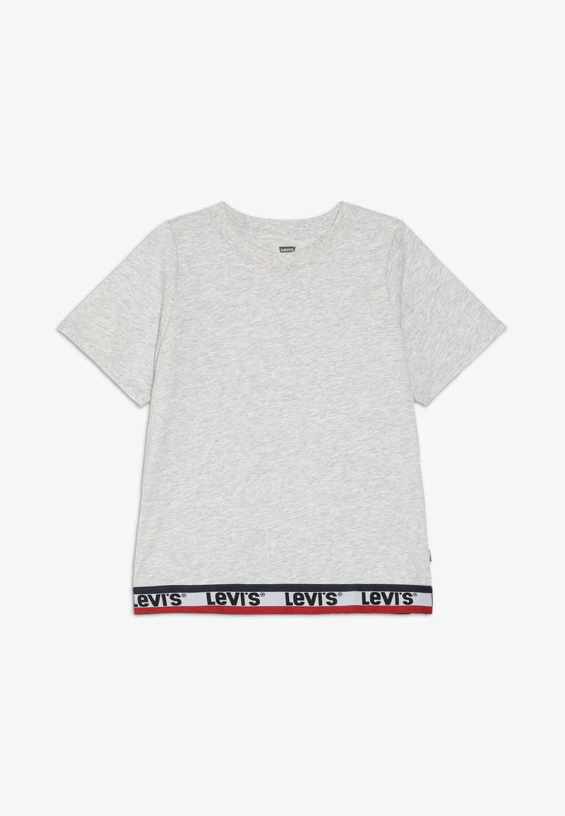 Levi's® - VARSITY TAPING - T-shirt imprimé - grey heather