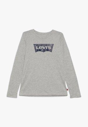 BATWING TEE - Långärmad tröja - light grey heather