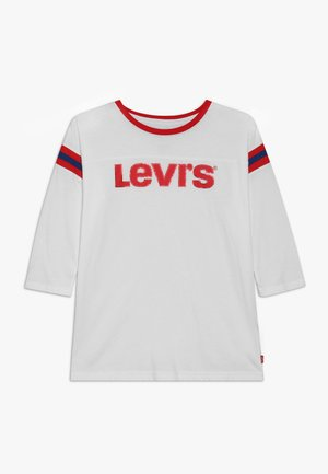 PEYTON FOOTBALL KNIT - T-shirt à manches longues - white
