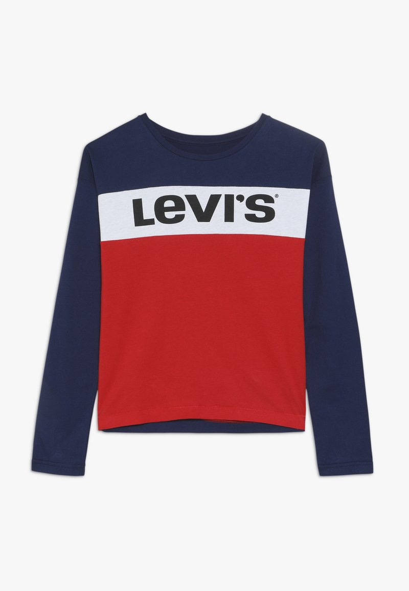 Levi's® - DROPPED SHOULER BOXY - Long sleeved top - super red