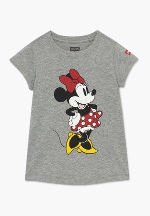 CURTSY MINNIE TEE - T-shirt imprimé - grey heather