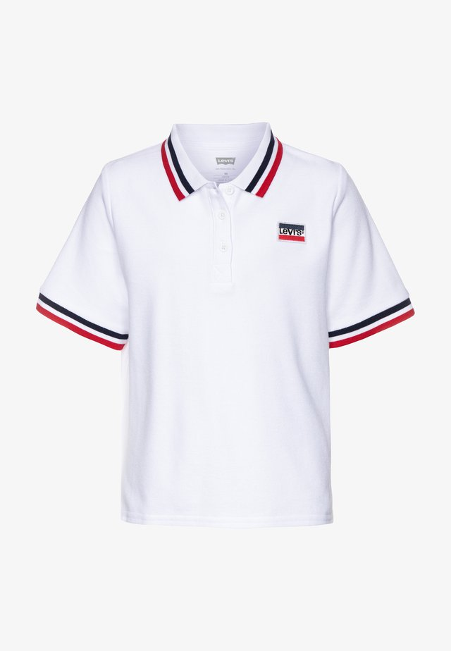 HIGH RISE  - Polo shirt - white