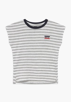 DOLMAN  - Print T-shirt - light gray heather
