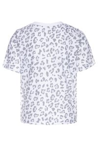 Levi's® - HIGH RISE - T-shirt z nadrukiem - white - 1