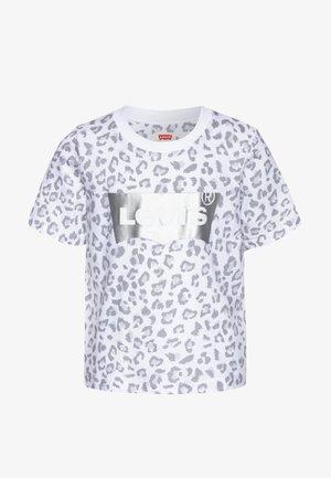 HIGH RISE - T-shirt z nadrukiem - white