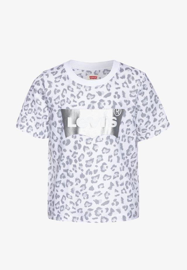 HIGH RISE - Camiseta estampada - white