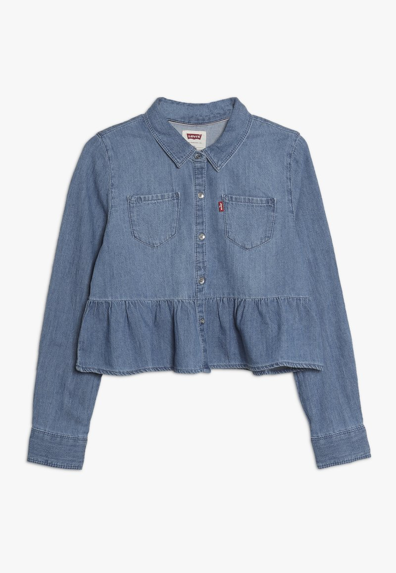 Levi's® - CROPPED RUFFLE WESTERN - Button-down blouse - vintage breeze