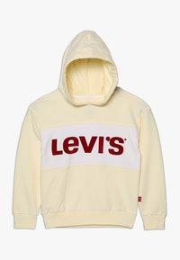Levi's® - MONACO - Sweat à capuche - transparent yellow - 0