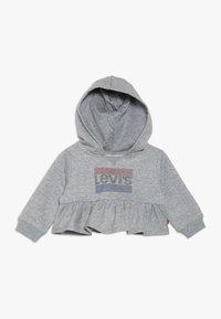 Levi's® - PEPLUM HOODIE BABY - Huppari - light grey heather - 0