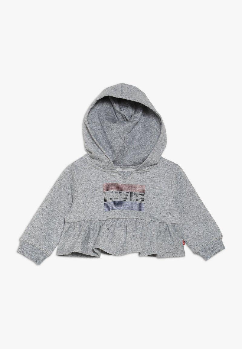 Levi's® - PEPLUM HOODIE BABY - Huppari - light grey heather