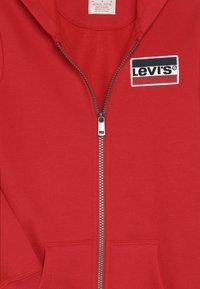 Levi's® - ELONGATED FULL ZIP HOODIE - Felpa aperta - super red - 4