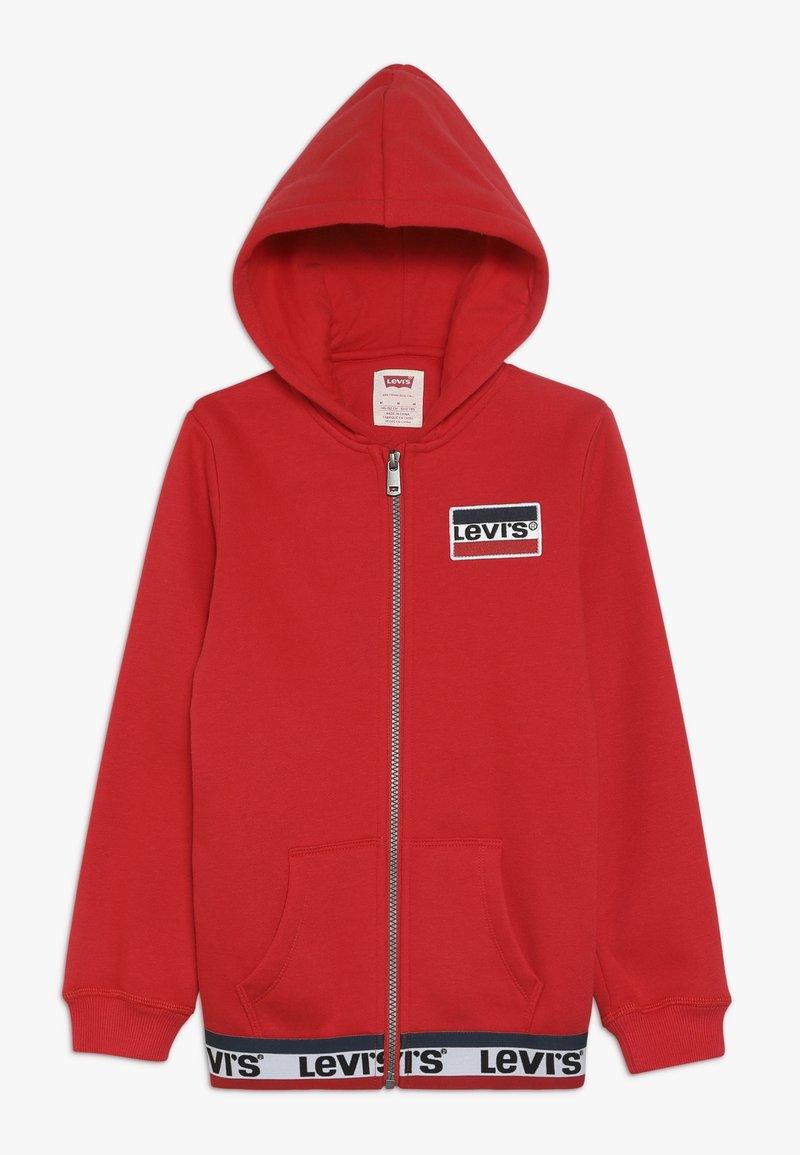 Levi's® - ELONGATED FULL ZIP HOODIE - Felpa aperta - super red