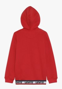 Levi's® - ELONGATED FULL ZIP HOODIE - Felpa aperta - super red - 1
