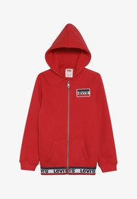 Levi's® - ELONGATED FULL ZIP HOODIE - Felpa aperta - super red - 3