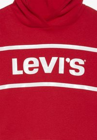 Levi's® - CROPPED BRANDED HOODIE - Huppari - super red - 3