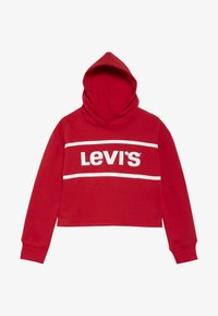 Levi's® - CROPPED BRANDED HOODIE - Huppari - super red - 2