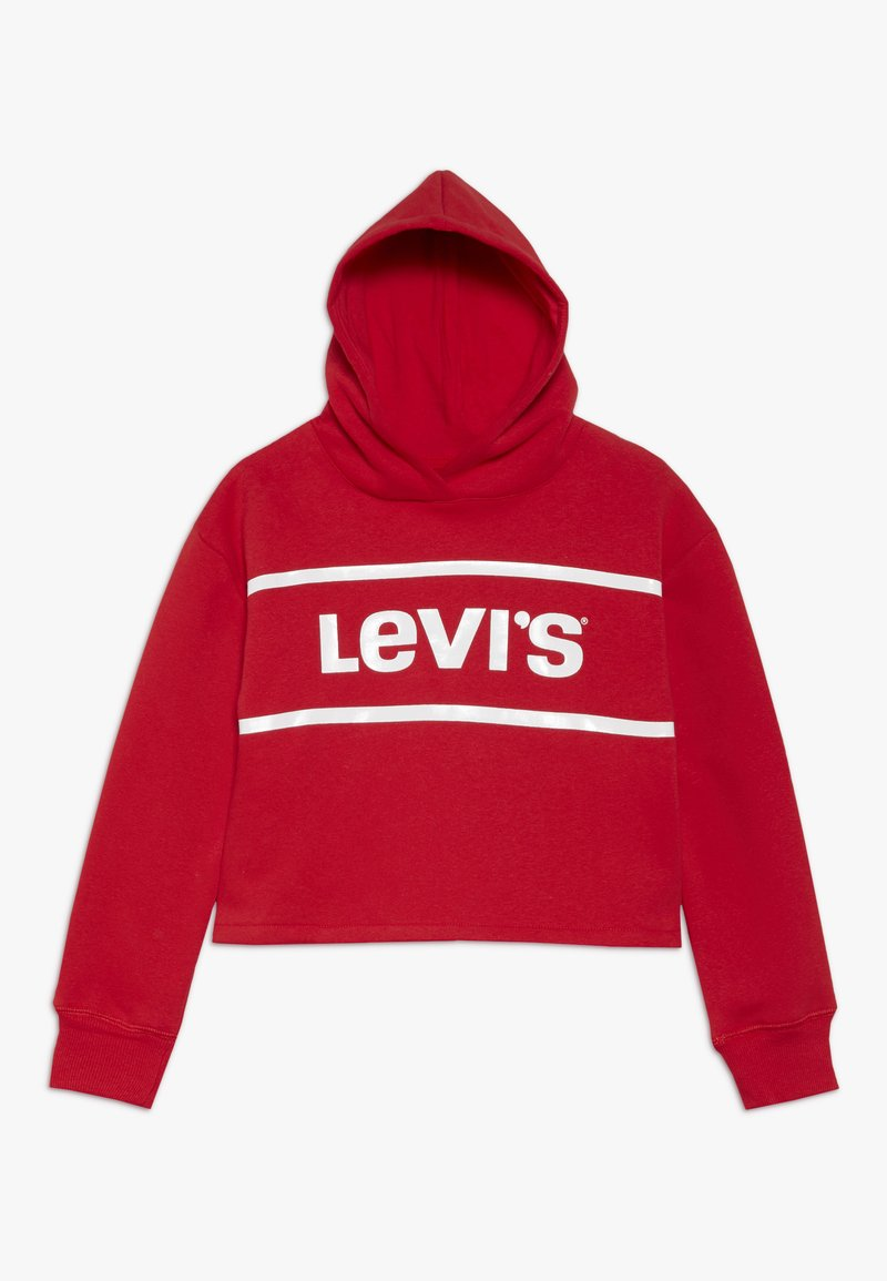 Levi's® - CROPPED BRANDED HOODIE - Huppari - super red