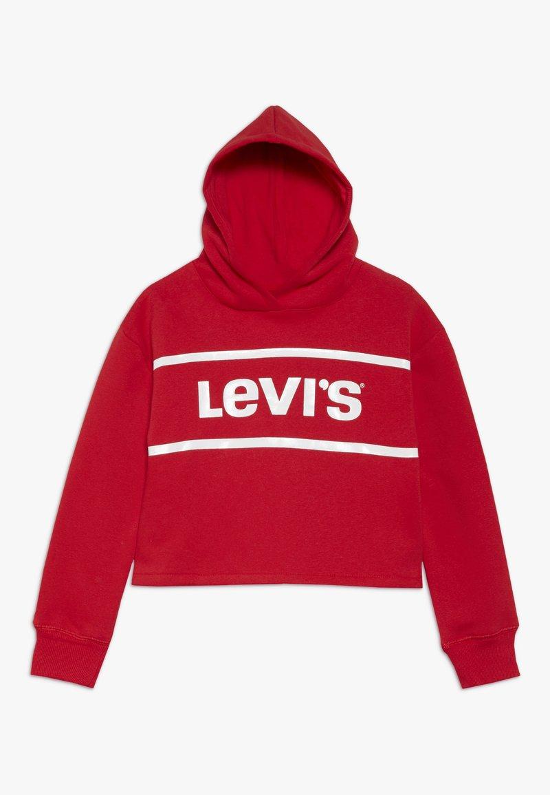 Levi's® - CROPPED BRANDED HOODIE - Sweat à capuche - super red
